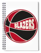 Portland Trail Blazers Retro Shirt Spiral Notebook