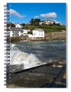 Portmellon In Winter Spiral Notebook