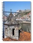 Porto And Gaia Cityscape In Portugal Spiral Notebook