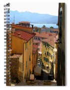Portoferraio Elba Spiral Notebook