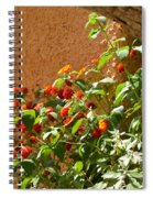 Portofino Flowers Spiral Notebook