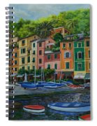 Portofino Harbor Spiral Notebook