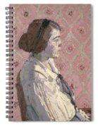 Portrait In Profile Spiral Notebook