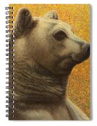 Portrait Of A Bear Spiral Notebook