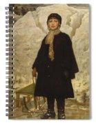 Portrait Of A Child Spiral Notebook