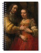 Portrait Of A Couple As Figures From The Old Testament Spiral Notebook