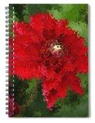 Portrait Of A Flower Spiral Notebook