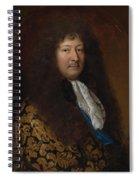 Portrait Of A Gentleman Spiral Notebook
