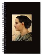 Portrait Of A Girl Henryk Semiradsky Spiral Notebook