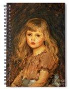 Portrait Of A Girl Spiral Notebook