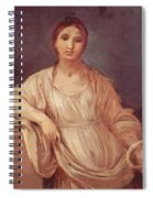Portrait Of A Girl With Crown 1642 Spiral Notebook