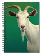 Portrait Of A Goat Spiral Notebook