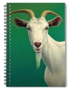 Portrait Of A Goat Spiral Notebook
