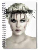 Portrait Of A Jesus Woman Spiral Notebook