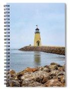 Portrait Of A Lighthouse Spiral Notebook