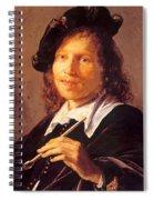 Portrait Of A Man 1640 Spiral Notebook