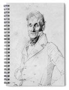 Portrait Of A Man Possible Edma Bochet Spiral Notebook