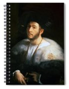 Portrait Of A Man Probably Cesare Borgia 1520 Spiral Notebook