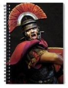 Portrait Of A Roman Legionary - 11 Spiral Notebook