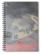 Portrait Of A Theatre Actress Spiral Notebook