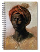 Portrait Of A Turk In A Turban Spiral Notebook