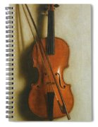 Portrait Of A Violin Spiral Notebook