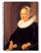 Portrait Of A Woman 1646 Spiral Notebook