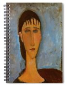 Portrait Of A Young Girl 1910 Spiral Notebook
