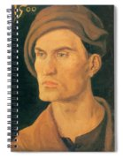 Portrait Of A Young Man 1500 Spiral Notebook