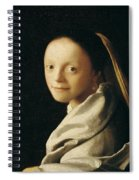 Portrait Of A Young Woman Spiral Notebook