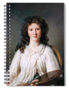 Portrait Of Adelaide Binart Spiral Notebook