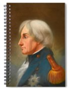 Portrait Of Admiral Lord Nelson Spiral Notebook