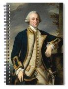Portrait Of Admiral Sir Hugh Palliser 1st Bart Spiral Notebook