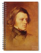 Portrait Of Alfred Lord Tennyson Spiral Notebook