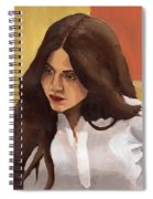Portrait Of Amelia Spiral Notebook