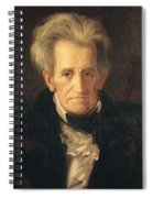 Portrait Of Andrew Jackson Spiral Notebook