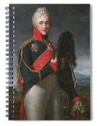 Portrait Of Arkady Alexandrovich Suvorov Spiral Notebook