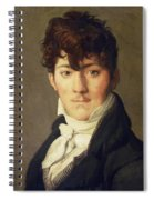 Portrait Of Auguste Francois Talma Ensign Nephew Of The Tragedian Talma Spiral Notebook