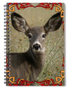 Portrait Of Bambi Spiral Notebook