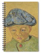 Portrait Of Camille Roulin Spiral Notebook