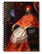 Portrait Of Cardinal Roberto Ubaldini 1625 Spiral Notebook