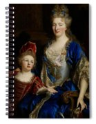 Portrait Of Catherine Coustard Spiral Notebook