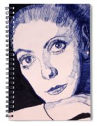 Portrait Of Catherine Spiral Notebook