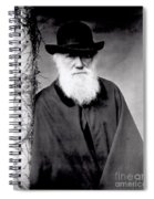 Portrait Of Charles Darwin Spiral Notebook