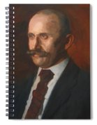 Portrait Of Charles Gruppe 1904 Spiral Notebook