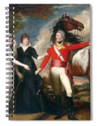 Portrait Of Colonel Fitch And His Sisters Spiral Notebook