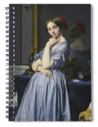 Portrait Of Comtesse D'haussonville Spiral Notebook