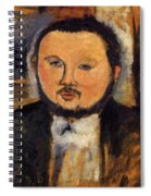 Portrait Of Diego Rivera 1914 Spiral Notebook