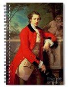 Portrait Of Edmund Rolfe Spiral Notebook