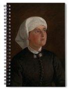 Portrait Of Elseberg Herrestvedt Spiral Notebook
